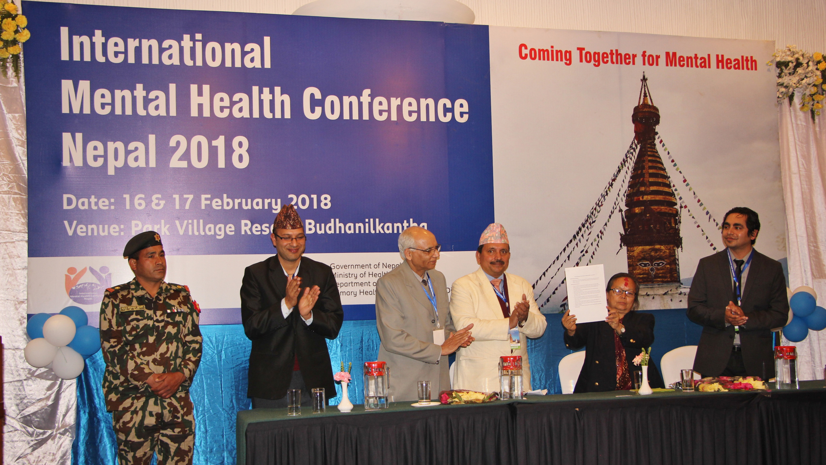 International Mental Health Conference Nepal 2018 - TPO Nepal